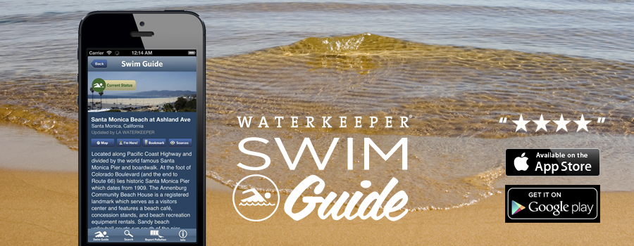 Image of Swim Guide mobile application