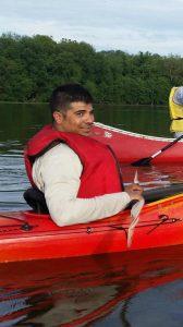 Ted kayak