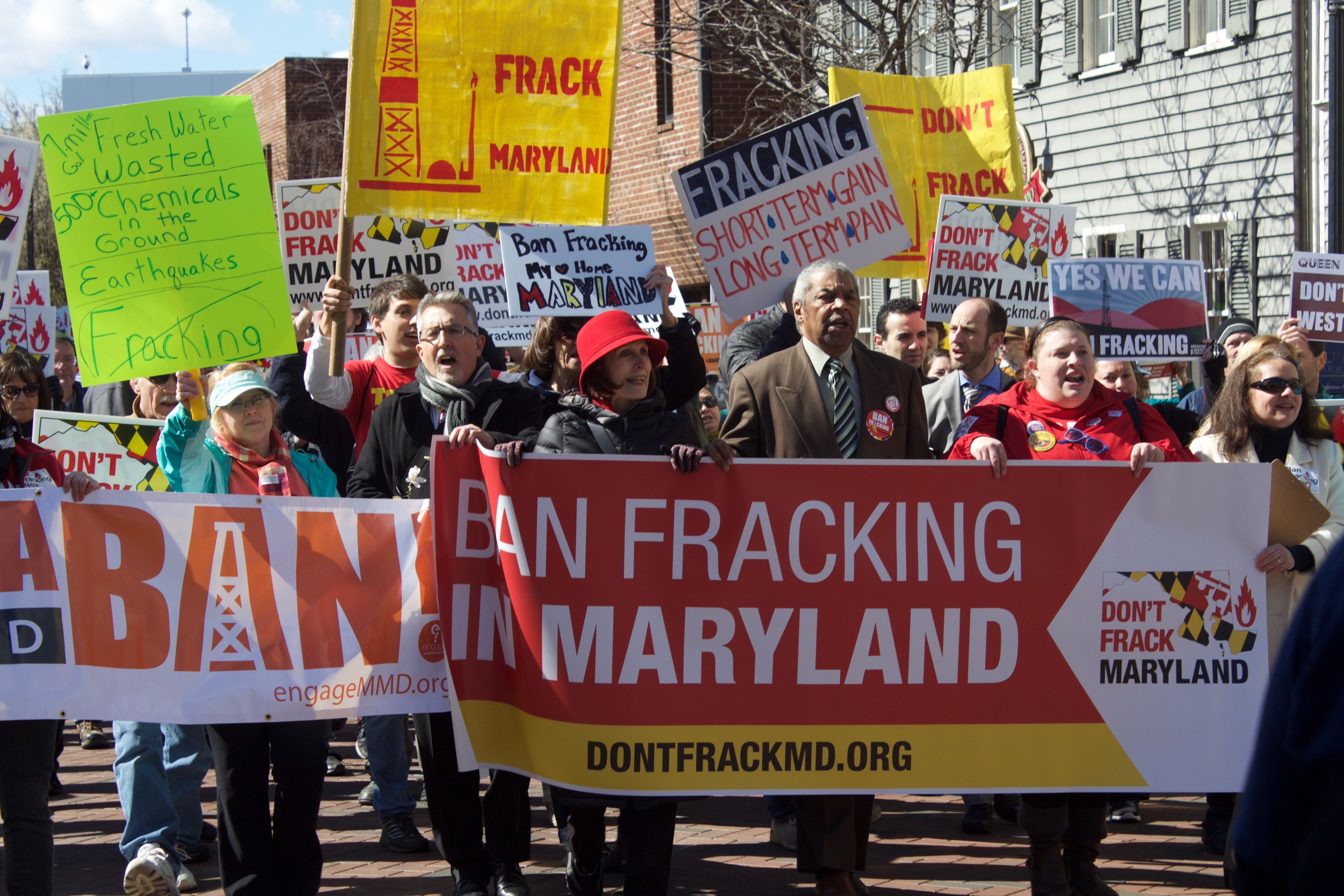 March 2 March on Annapolis to Ban Fracking