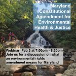 Webinar: Maryland Amendment on Environmental Health & Justice