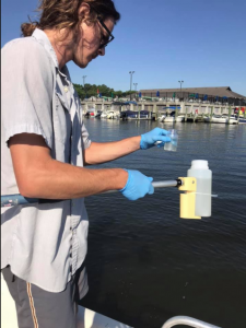 Water Quality monitoring with Assateague Coastkeeper